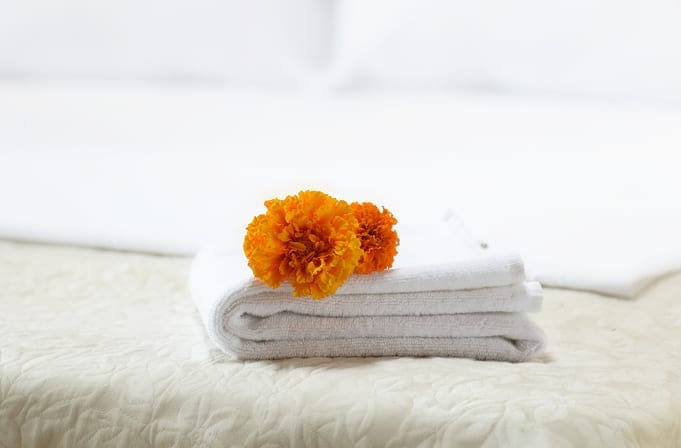 luxury hotel towels